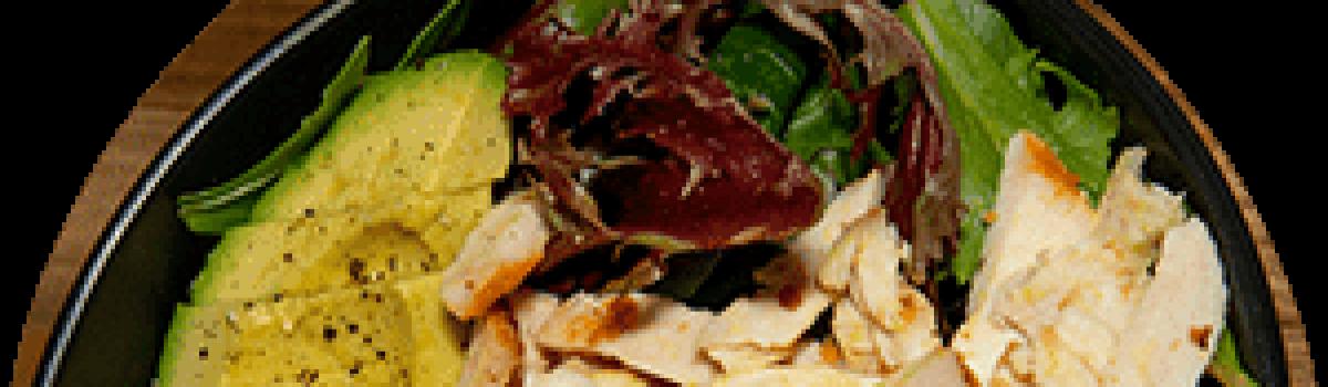 Roasted Chicken Avo Salad