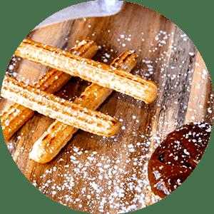 Churros | Gourmet Pizza | Best Pizza near me | I Love Pizza