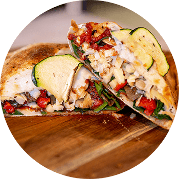 Vegetarian Lovers Calzone | Gourmet Pizza | Best Pizza near me | I Love Pizza