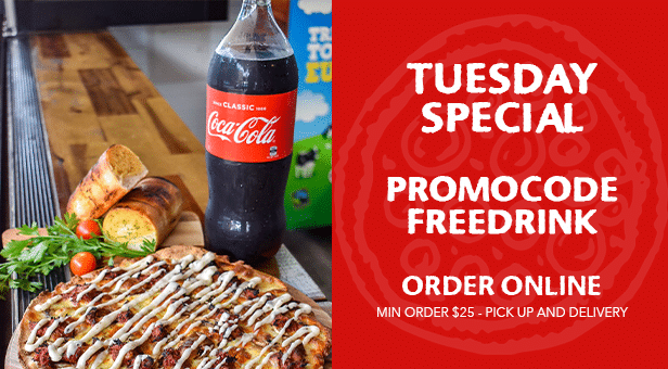 Tuesday Special – FREE DRINK